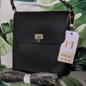 NWT VEGAN Melie Bianco Remy Crossbody bag